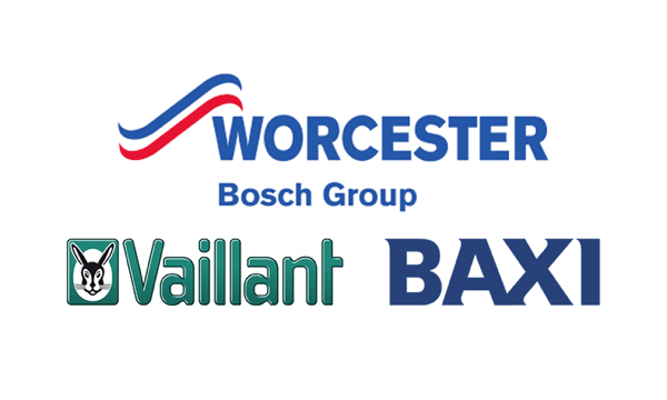 Worcester Bosch, Valiant and Baxi boilers